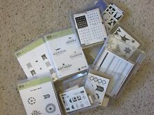 Stampin' Up! Wood Stamp Sets Used Your Choice