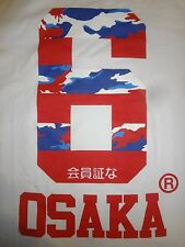 SUPERDRY OSAKA 6 Red, White, Blue Camouflage XL, M, Limited Edition Camo T-Shirt