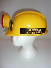 Allegany State Park Miner Hard Hat with Attached Light