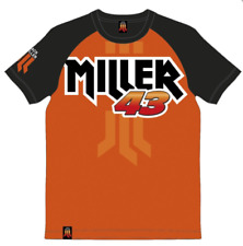 VR46 OFFICIAL JACK MILLER MOTORCYCLE MOTOGP MENS T-SHIRT ORANGE