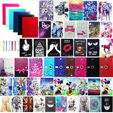 """Many Universal For 7"""" 8"""" 10"""" 10.1"""" Tablet PC Leather Stand Case Cover +Stylus"""