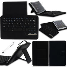"US Black Universal Bluetooth Keyboard Leather Case For 7"" 8"" 10"" 10.1"" Tablet PC"