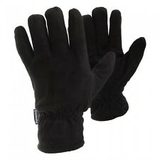 FLOSO Mens Plain Casual Thinsulate Thermal Fleece Winter Warm Gloves (3M 40g)