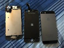 Apple iPhone 5s - 16GB - Space Gray FOR PARTS ONLY