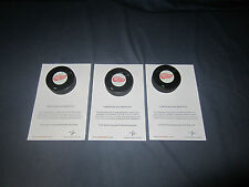 CURTIS JOSEPH X3 SIGNED CERTIFIED DETROIT RED WINGS HOCKEY PUCKS NHL