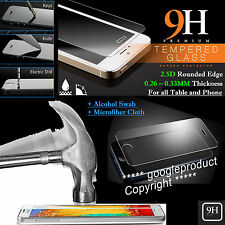 9-H Tempered Glass Screen Shield Protector For Cover Case Phone Table Model