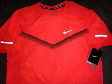 "NIKE RUNNING TENNIS SHIRT ""DRI-FIT"" M MENS NWT $$$$"