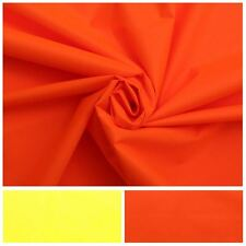 190GSM FLOURESCENT 300D PU POLYESTER OUTDOOR INDUSTRIAL CLOTHING FABRIC