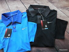Nike Golf 585783 Men's TW Polo Shirt SS Top Tiger Woods $100 Perforated Panel