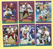 1994 Score Washington Redskins TEAM SET (13) Shuler (R) Brooks Future Franchise