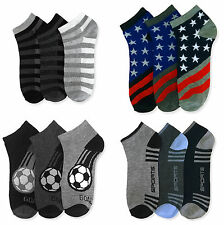 New 12 Pairs Ankle/Quarter Crew Mens Socks Cotton low cut 10-13 Sport Black LOT