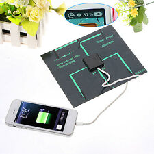 6v 3.5w 580-600MA Solar Panel USB Travel Battery Charger For Mobile Phone Tablet