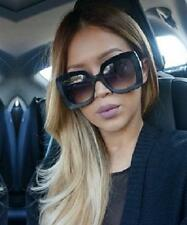 Large Oversized Big Butterfly Jackie O Square Kim K Sunglasses Glasses Omg 6027