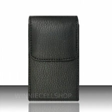 PREMIUM Vertical Leather Clip Case Holster Pouch for Verizon Wireless Cell Phone