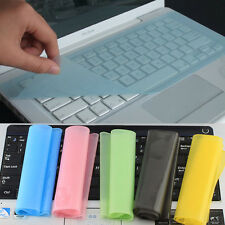 New Ultra Thin Clear Silicone Keyboard Cover Skin for Notebook Laptop Computer