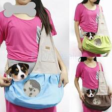 Dog Cat Pet Carrier Single Shoulder Sling Bag Tote Safe Pouch Outdoor Walking