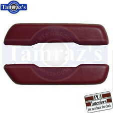 """1968-1972 GM A & F Body Front Arm Rest Armrest Pads Pair 11 1/2"""" PUI New"""
