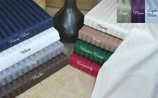 Luxury Egyptian Cotton 400 Thread Count Striped Sheet Sets