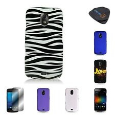 For Samsung Galaxy Nexus LTE Various Hard Plastic Rubberized / Design Cover Case