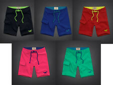 NWT HOLLISTER by Abercrombie and Fitch Solid Mens Swim Shorts Trunks S, M, L, XL