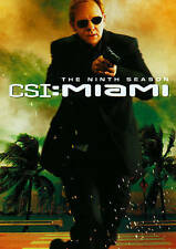 CSI: Miami - The Ninth Season (DVD, 2011, 6-Disc Set) BRAND NEW & FREE SHIPPING!