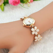 2015 Luxury Daisies Rose Pearl Dolphin Womens Watches Bracelet Quartz WristWatch