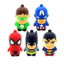 New Cartoon Warriors Model USB 2.0 Memory flash stick pen drive 4GB-32GB SP180