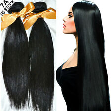 Peruvian/Malaysian/Brazilian 100% Real Virgin Remy Hair Extensions 100-300g A162