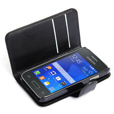 Book Flip Wallet PU Leather stand Case Cover For Samsung Galaxy Young 2 G130