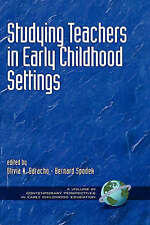 Studying Teachers in Early Childhood Settings (Hc) (Contemporary Perspectives in