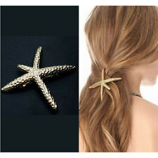 Women Girls Hairpin Sweet Gift Nice Starfish Beach Sea Star Hair Clip Barrette