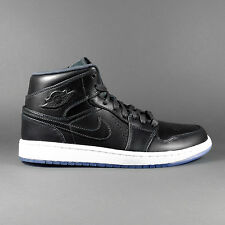 Nike Air Jordan 1 Medio High Negro Zapatos NBA Black Zapatillas 629151 003