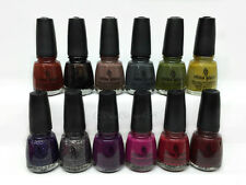 China Glaze Nail Lacquer- METRO Collection - Choose Any Color