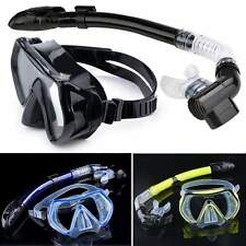 Scuba Diving Mask Snorkel Glasses Set Silicone Swimming Mask + snorkel kit Hot