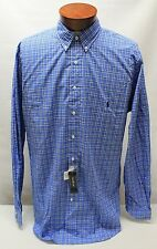 NWT $95 Polo Ralph Lauren Shirt Mens LT XLT 2XLT 3XB 3XLT BLUE Long Sleeve NEW