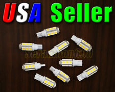 12V Low Voltage T10/T5 Wedge Base Day Light White LED Malibu Replacement Bulbs