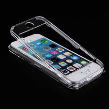Crystal Clear Front & Back Hard Full Body Protective Case For iPhone 5 5S 6 Plus