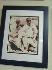 Joe DiMaggio and Bill Dickey Signed 8x10 Framed Photo N.Y. Yankees PSA E48383