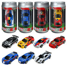 1:58 PVC Coke Can Mini Car Speed RC Radio Remote Control Racing Model Toy Gift