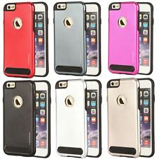 Armor Hybrid Mesh Soft Silicone Hard Tuff Shell Case Cover For Apple iPhone 6