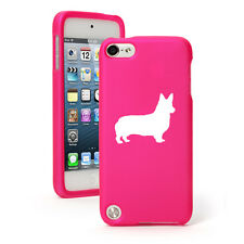 For Apple iPod Touch 4th 5th 6th Rubber Hard Case Cover Corgi Dog