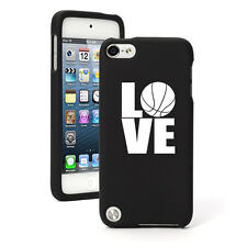 For Apple iPod Touch 4th 5th 6th Rubber Hard Case Cover Love Basketball