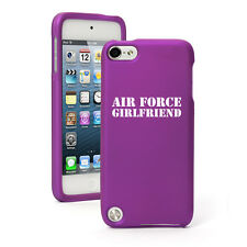 For Apple iPod Touch 4th 5th 6th Rubber Hard Case Cover Air Force Girlfriend