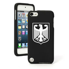 For Apple iPod Touch 4th 5th 6th Rubber Hard Case Cover Germany German Eagle