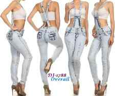 Stretch Colombian Push Up Levanta Pompis Rip Overall Skinny Jeans Silver Diva