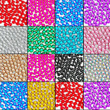 Wholesale 1000Pcs Facets Resin Rhinestone Gem Flat Back Crystal AB Beads 2mm DIY