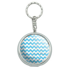 Portable Travel Size Pocket Purse Ashtray Keychain Pattern Prints L-Z