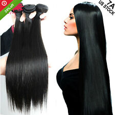300g Thick 3 Bundles Brazilian Unprocessed Virgin Hair US Stock Ultimate 7A A194