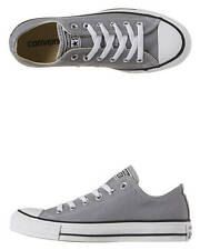 New Converse - Chuck Taylor All Star Season Oxford Trainers Women's Shoes Grey