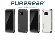 PureGear DualTek Extreme Impact Hard Case Cover For HTC ONE M9
